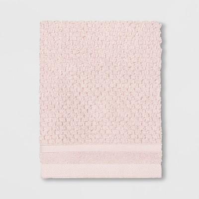 Performance Texture Washcloth Blush Pink - Threshold™