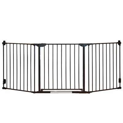 Qdos Construct-A-SafeGate Baby Gate - Slate Gray