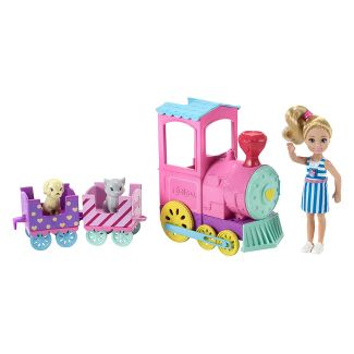 Barbie Club Chelsea Doll and Choo-Choo Train