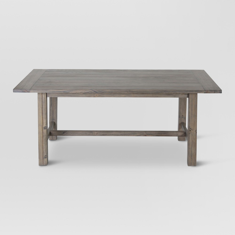 Gilford 60 Rustic Dining Table - Gray - Threshold