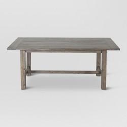 "Gilford 60"" Rustic Dining Table - Gray - Threshold™"