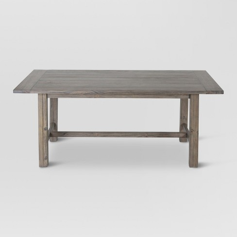 """60"""" Gilford Rustic Dining Table Gray - Threshold™ - image 1 of 4"""