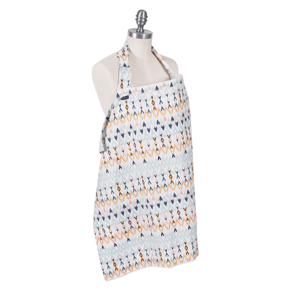 Image of Bebe au Lait Premium Cotton Nursing Cover - White