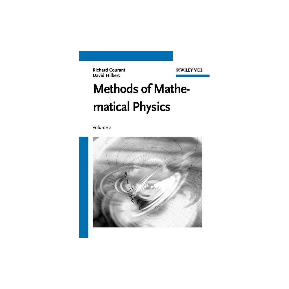 Methods Of Mathematical Physics Wiley Classics Library By Richard Courant David Hilbert Paperback