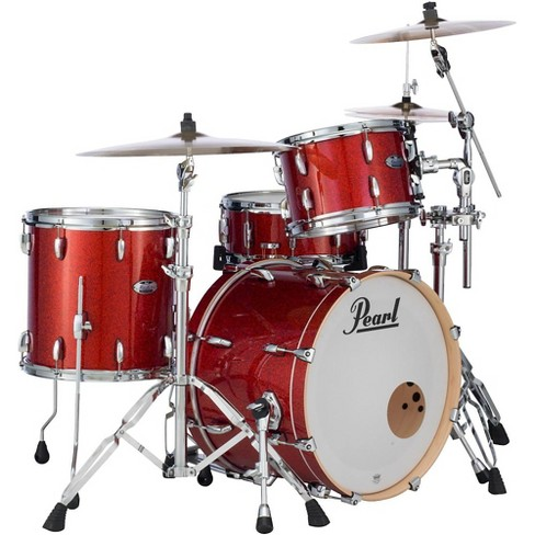 Pearl Masters Maple Complete 3-Piece Shell Pack Vermillion Sparkle - image 1 of 4