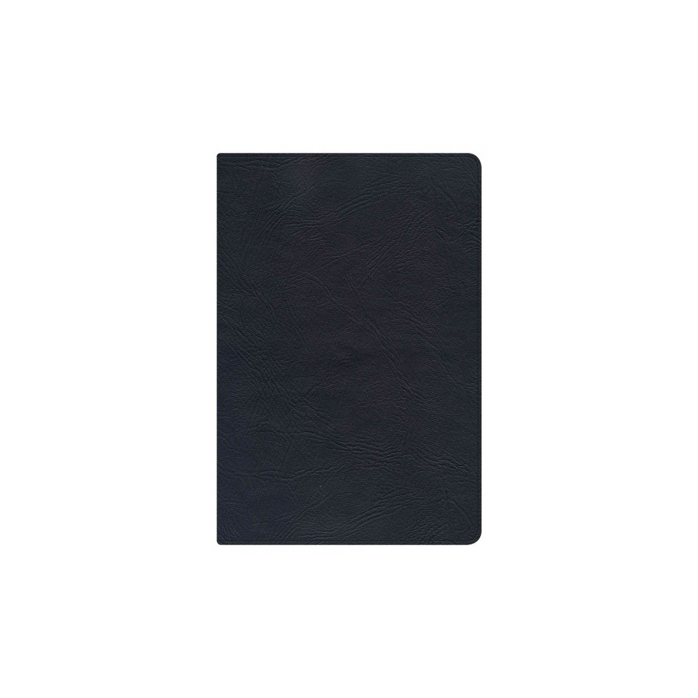 Holy Bible : New King James Version, Black Genuine Leather Personal Size Reference Bible (Paperback)