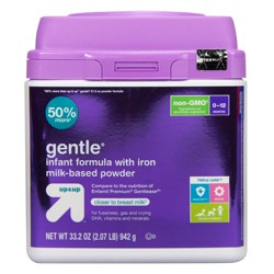 Gentle Non-GMO Infant Formula with Iron Powder - 33.2oz - Up&Up™
