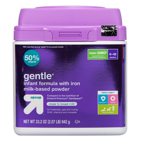 Gentle Infant Formula with Iron Milk-Based Powder - up & up™ - image 1 of 4