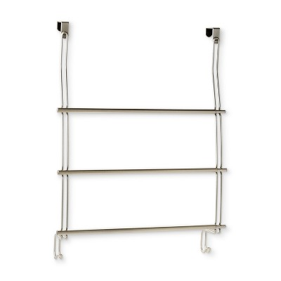 Expandable Over-The-Door Towel Rack Over-The-Door Hook Silver - Threshold™