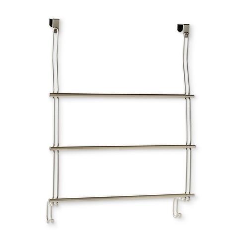 Expandable Over The Door Towel Rack Over The Door Hook Silver