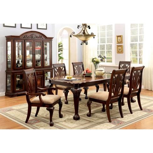 Sun Pine Cabriole Legs Elegant Dining Table Wood Cherry Target