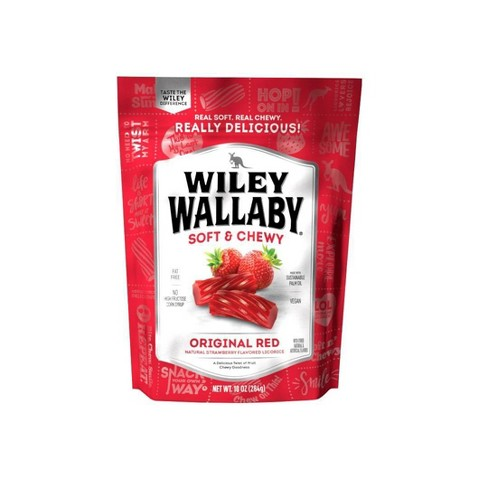 Wiley Wallaby Red Licorice - 10oz - image 1 of 4