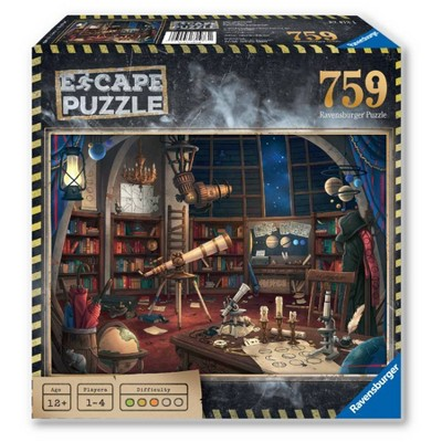 Ravensburger Escape Puzzle - Space Observatory Puzzle 759pc