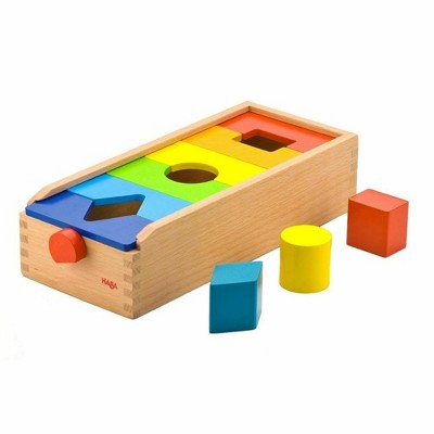 HABA Fit & Play Rainbow Shape Sorting Box