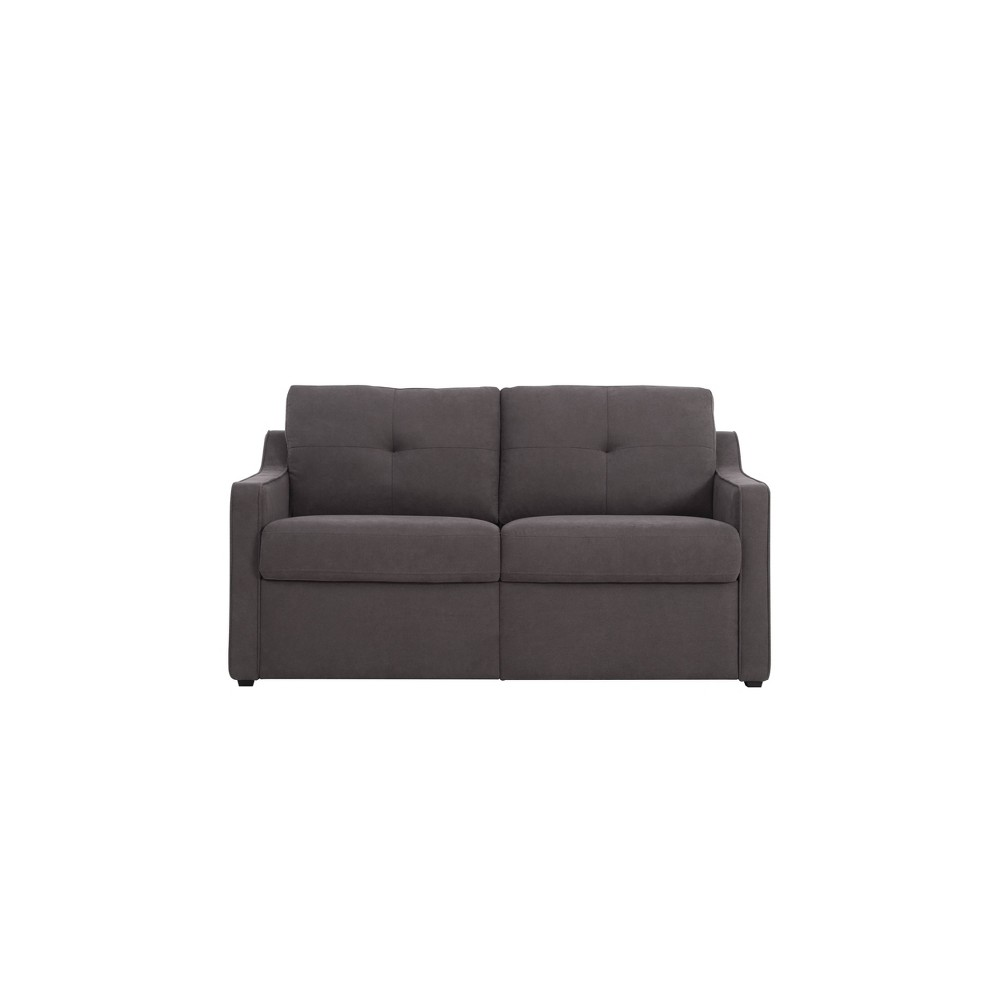 Image of Briggs Convertible Loveseat Brown - Lifestyle Solutinons