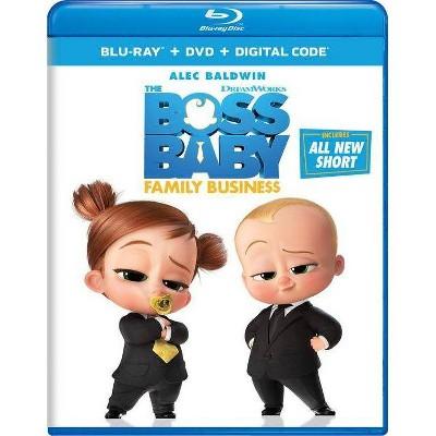 Boss Baby: Family Business (Blu-ray + DVD + Digital)