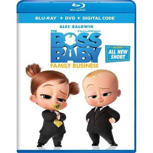 Boss Baby: Family Business (Blu-ray + DVD + Digital) - image 1 of 1