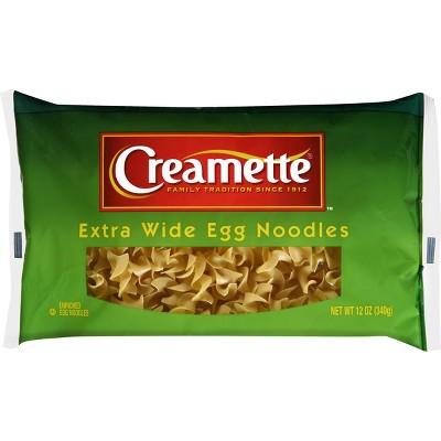 Pasta: Creamette Egg Noodles