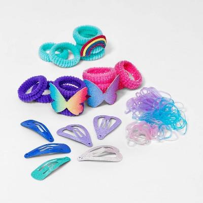 Toddler Girls' Hair Pony Holder and Value Clip Pack - Cat & Jack™