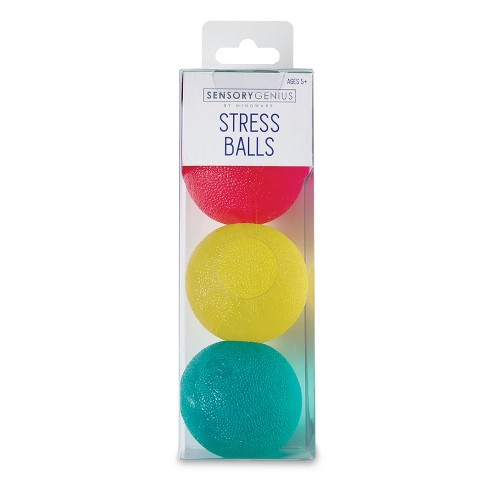 Mindware Stress Balls 3pc Brainteasers