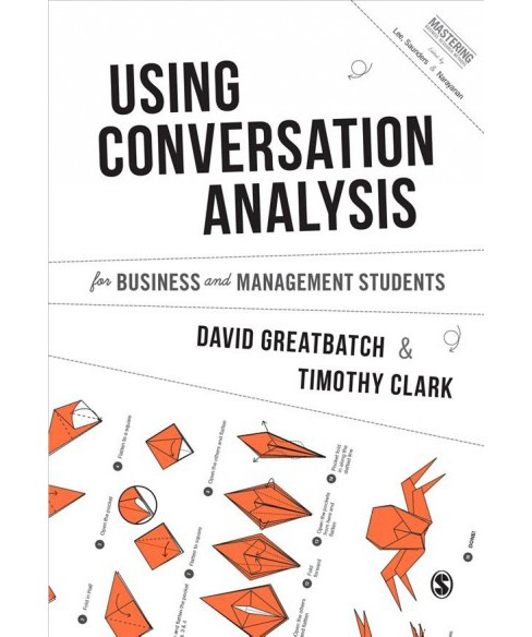 Using Conversation Analysis for Business and Management Students -  (Hardcover) - image 1 of 1