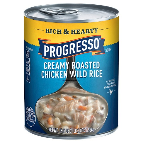 Progresso® Rich & Hearty Creamy Roasted Chicken Wild Rice Soup 18.5 oz - image 1 of 1