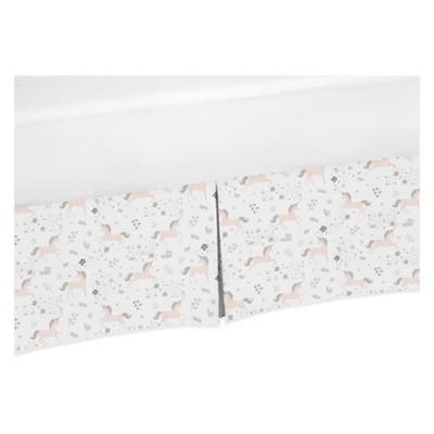 Sweet Jojo Designs Crib Skirt - Unicorn