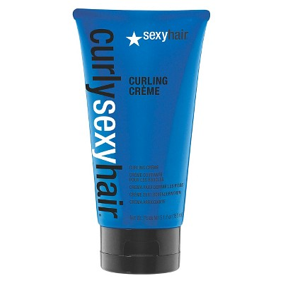 Sexy Hair Curly Sexy Curling Creme - 5.1 fl oz