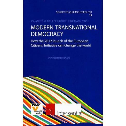 Modern Transnational Democracy - (Paperback) - image 1 of 1