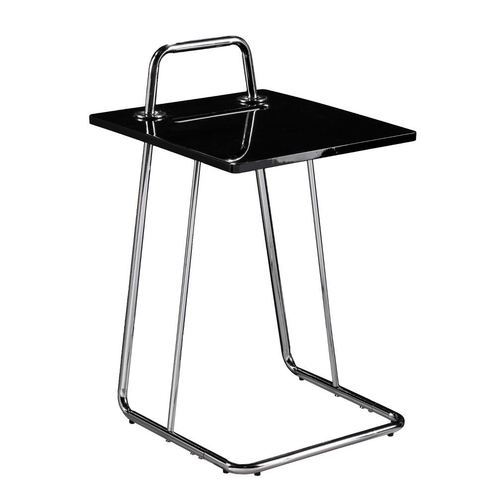 Hengill C Table/Laptop Desk - Aiden Lane, Black