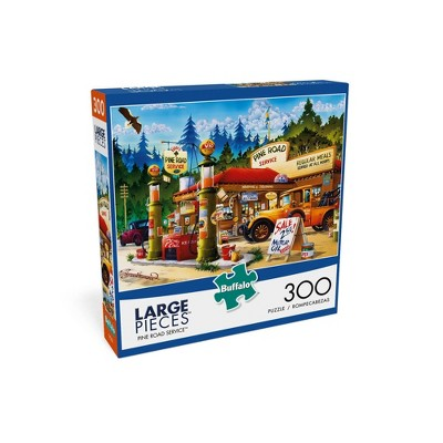 Buffalo Games Pine Road Service Jigsaw Puzzle - 300pc