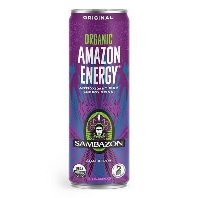 Sambazon Original Energy Drink - 12 fl oz Can