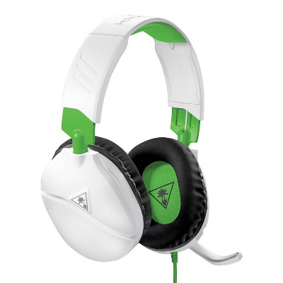 Turtle Beach Recon 70 Wired Gaming Headset for Xbox One/Series X|S - White/Green