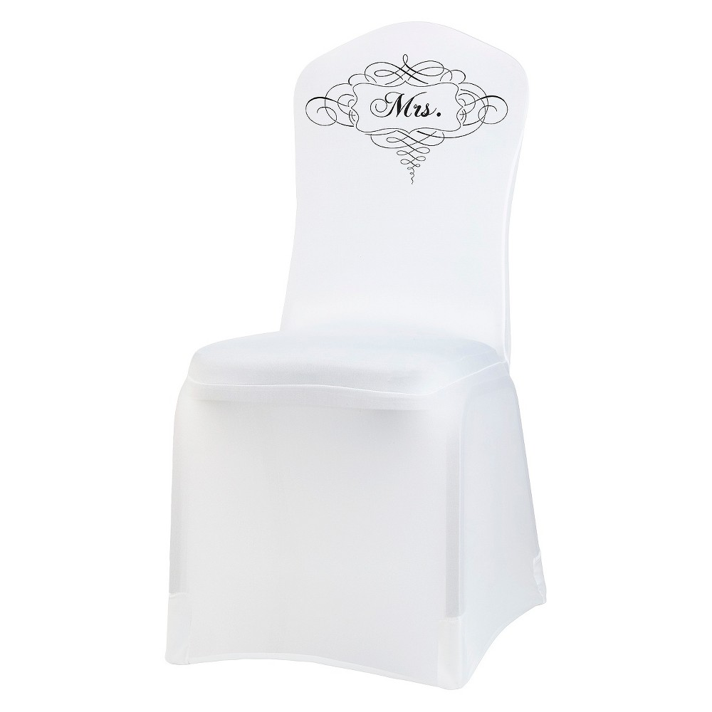 Lillian Rose Party Decoration - White/Clear