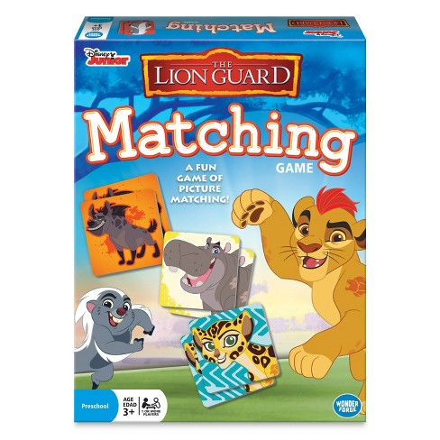 The Lion Guard Matching Game - image 1 of 4