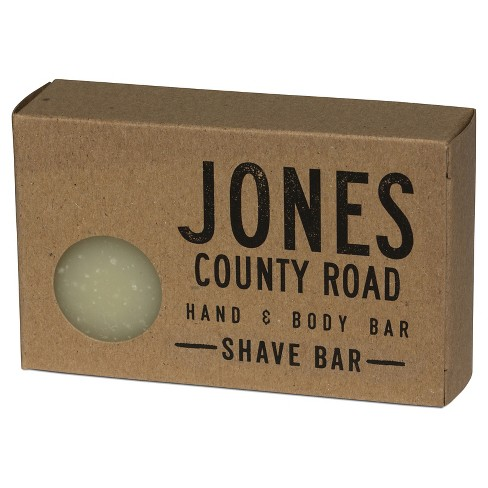Jones County Road Hand & Body Bar Shave Bar - 4 oz - image 1 of 2