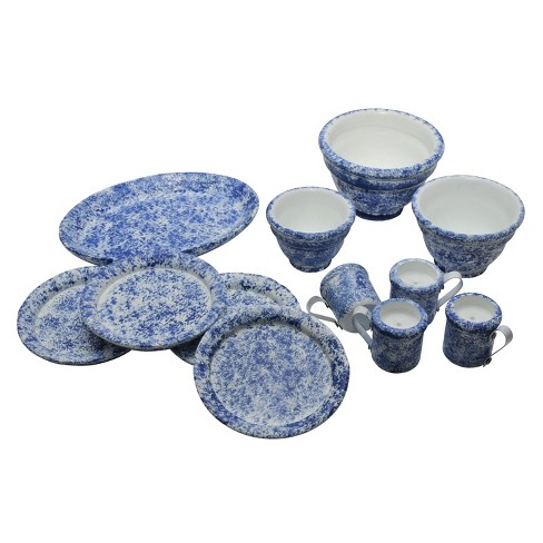 """The Queen's Treasures Vintage Spatter Ware Serving & Dish Set for 18"""" Dolls - 10pc - image 1 of 4"""
