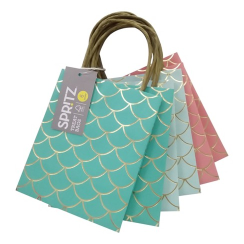 6ct Mermaid Treat Bags - Spritz™   Target f74fa59a8