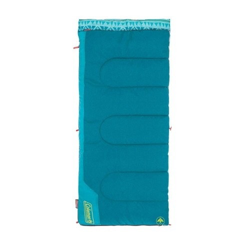 Coleman 50 Degree Youth Sleeping Bag - Turquoise - image 1 of 4