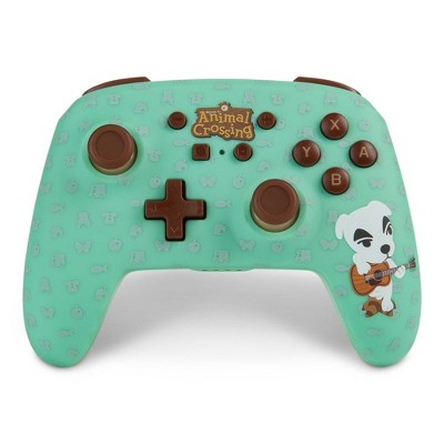 PowerA Enhanced Wireless Controller for Nintendo Switch - Animal Crossing K.K. Slider