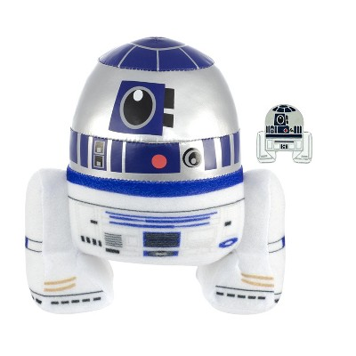 """Star Wars The Force Awakens BB-8  7/"""" Soft Plush with Collectible Enamel Pin New"""