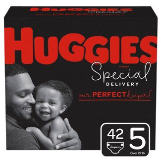 Huggies Special Delivery Disposable Diapers Super Pack - Size 5 - 42ct