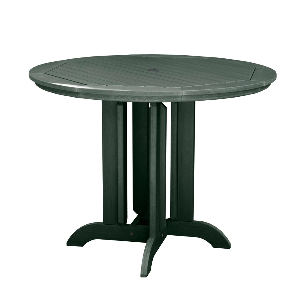 Round 48 Counter Dining Table Charleston Green - Highwood