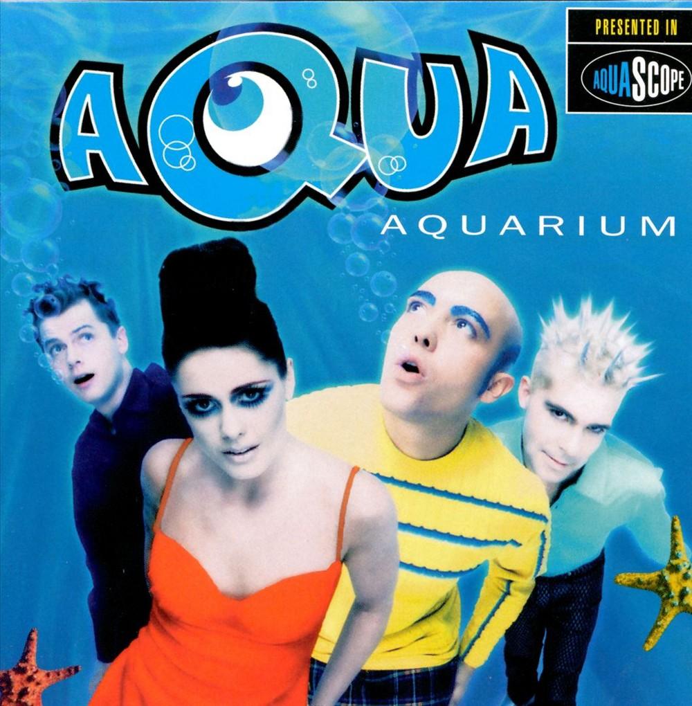 LP Supports Aqua - Aquarium (CD), Pop Music