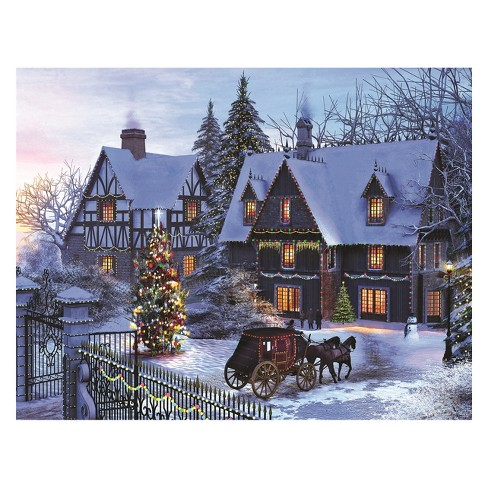 Springbok Home For Christmas Puzzle 350pc - image 1 of 2