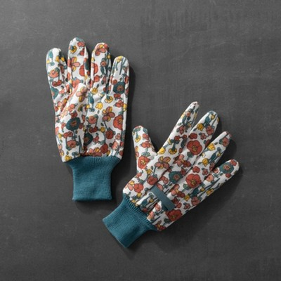Floral Gardening Gloves - Hearth & Hand™ with Magnolia