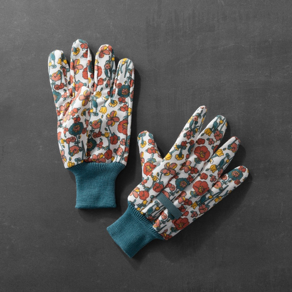 Floral Gardening Gloves - Hearth & Hand with Magnolia
