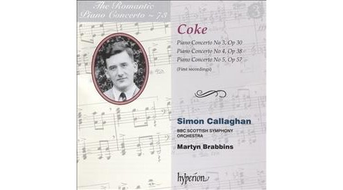Simon Callaghan - Romantic Piano Concerto Vol 73 (CD) - image 1 of 1