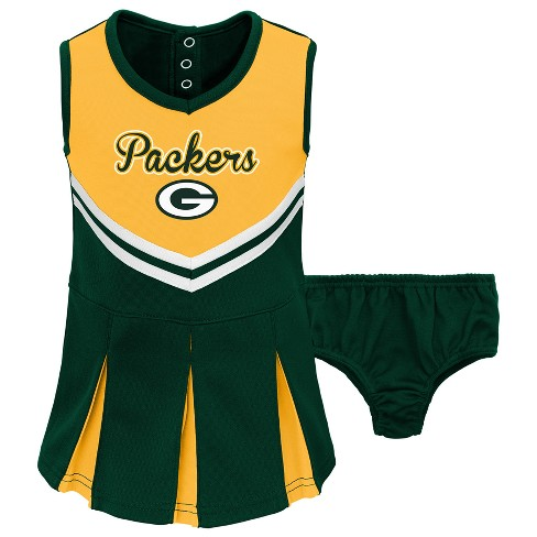 458cb613 NFL Green Bay Packers Infant/ Toddler In the Spirit Cheer Set