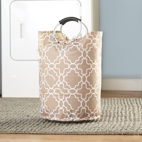Lakeside Canvas Laundry Tote with Jumbo Padded Grip Handles - image 1 of 1
